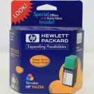 Hewlett Packard - HP51625A Tri-Color Ink Cartridge