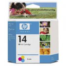 Hewlett Packard - HP 14, C5010DN Tri-color Ink Cartridge