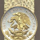 Mexican 20 Centavo Coin Money Clip Mexico