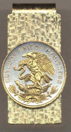 Mexican 20 Centavo Coin Money Clip Mexico