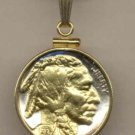Indian Head Nickle Coin Necklace