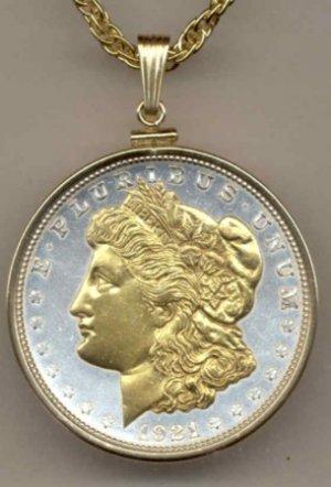 Morgan Silver Dollar Coin Necklace