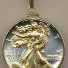 Walking Liberty Half Dollar Coin Necklace