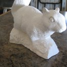 Ready to Paint Squirrel Ceramic Bisque