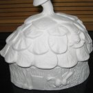 Bunny House Candy Dish Ready To Paint Ceramic Bisque Easter Bunny Box