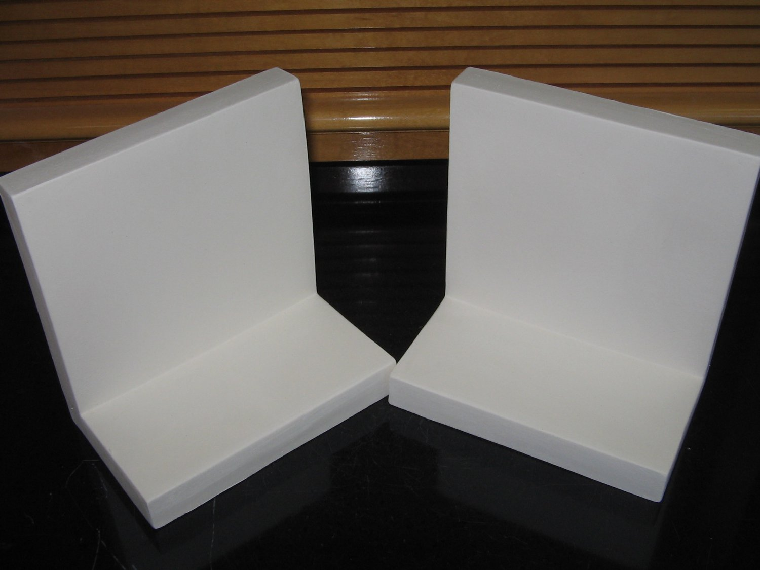 U Paint Pair Ceramic Bookends Bisque Ready To Paint Plain Bookends