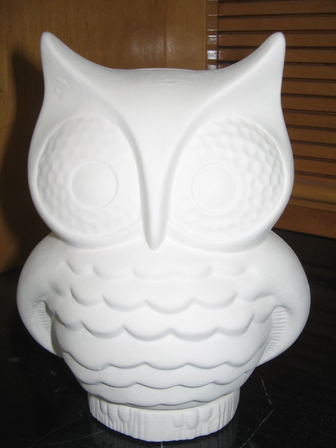 Ready To Paint Owl Bank Ceramic Bisque U Paint