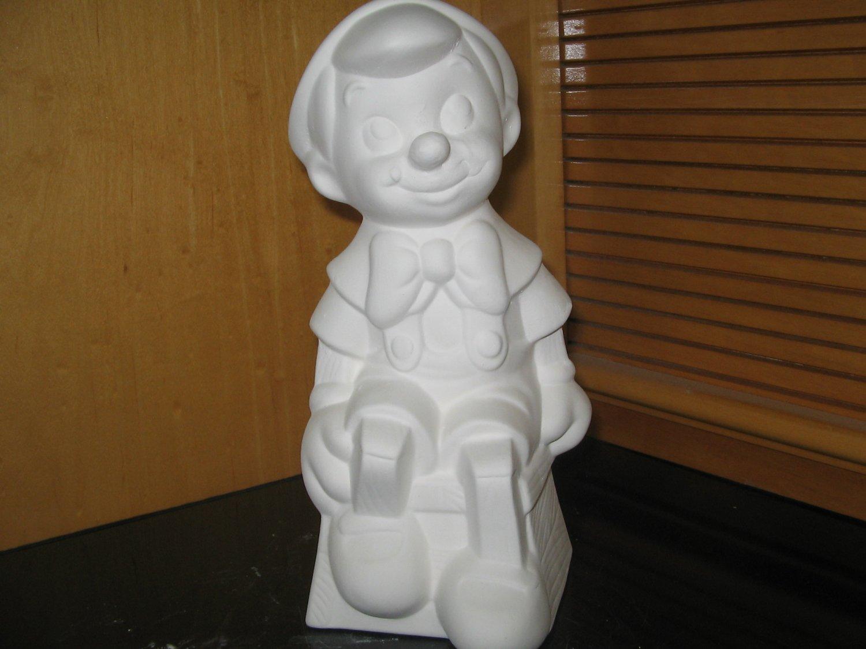 Ready To Paint Pinocchio U Paint Ceramic Bisque U Paint