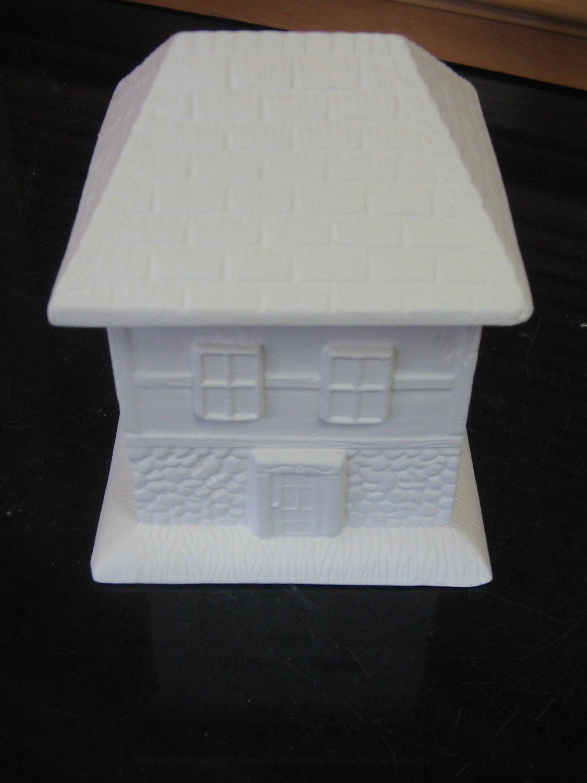 U Paint House Sugar Bowl Ready To Paint Ceramics Bisque