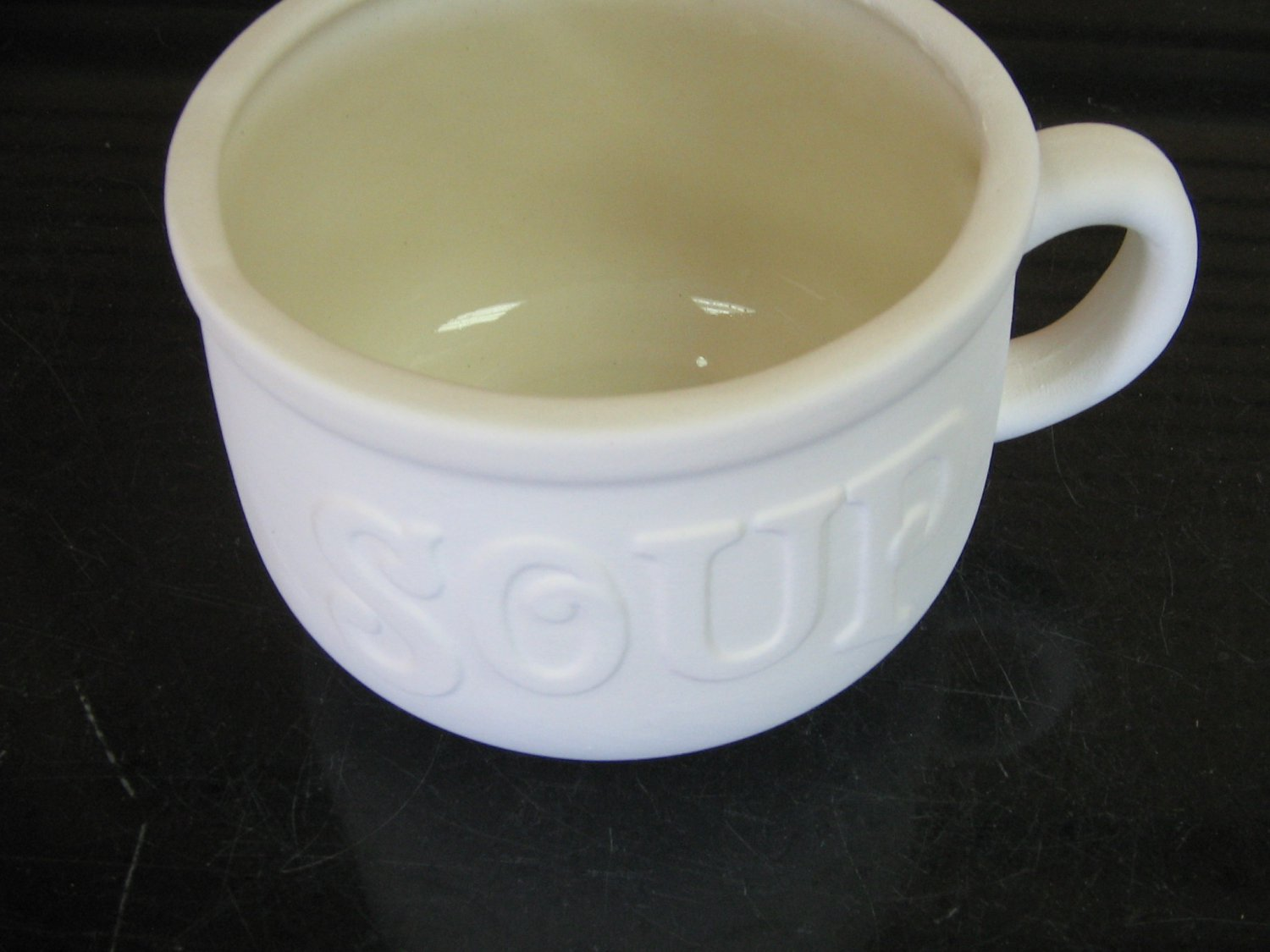 Large Soup Mug Ready To Paint Ceramics U Paint Ceramic Bisque