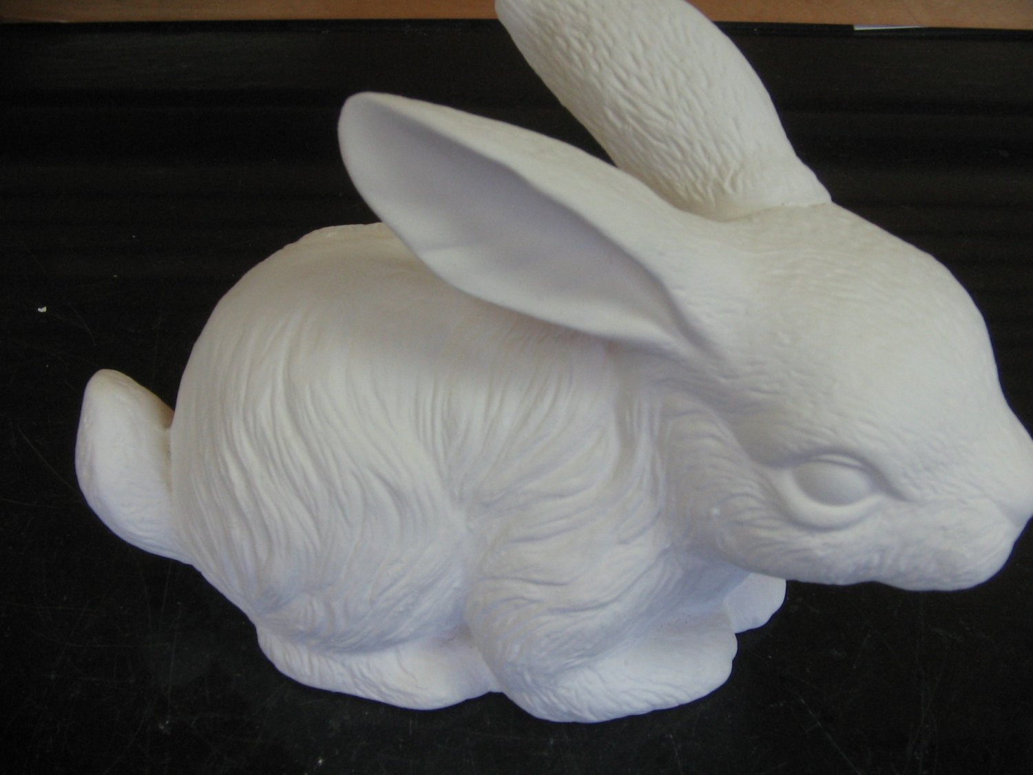 Ceramic Sitting Bunny Ready To Paint Bisque U Paint Cermics