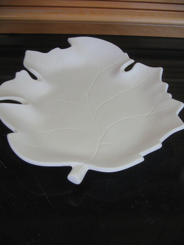 Ceramic Leaf Dish Ready To Paint Ceramic Bisque U Paint