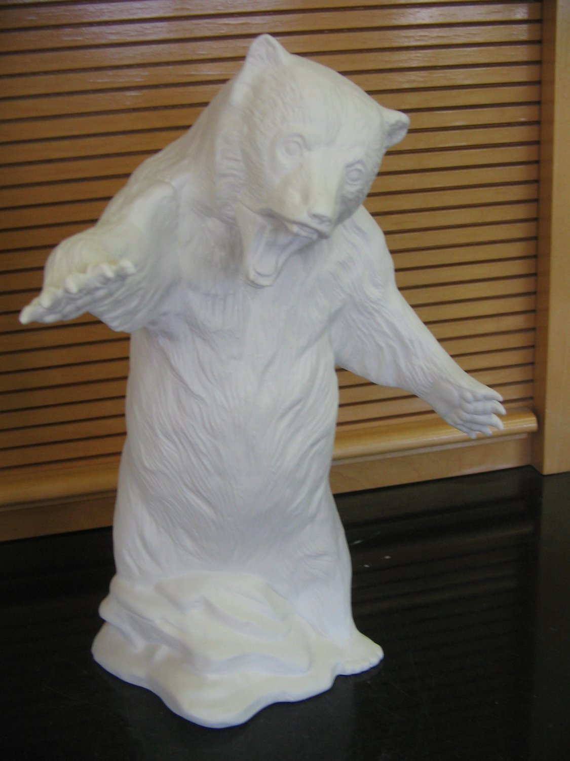 Ceramic Standing Grizzly Bear Ready To Paint Bisque Ceramics U Paint