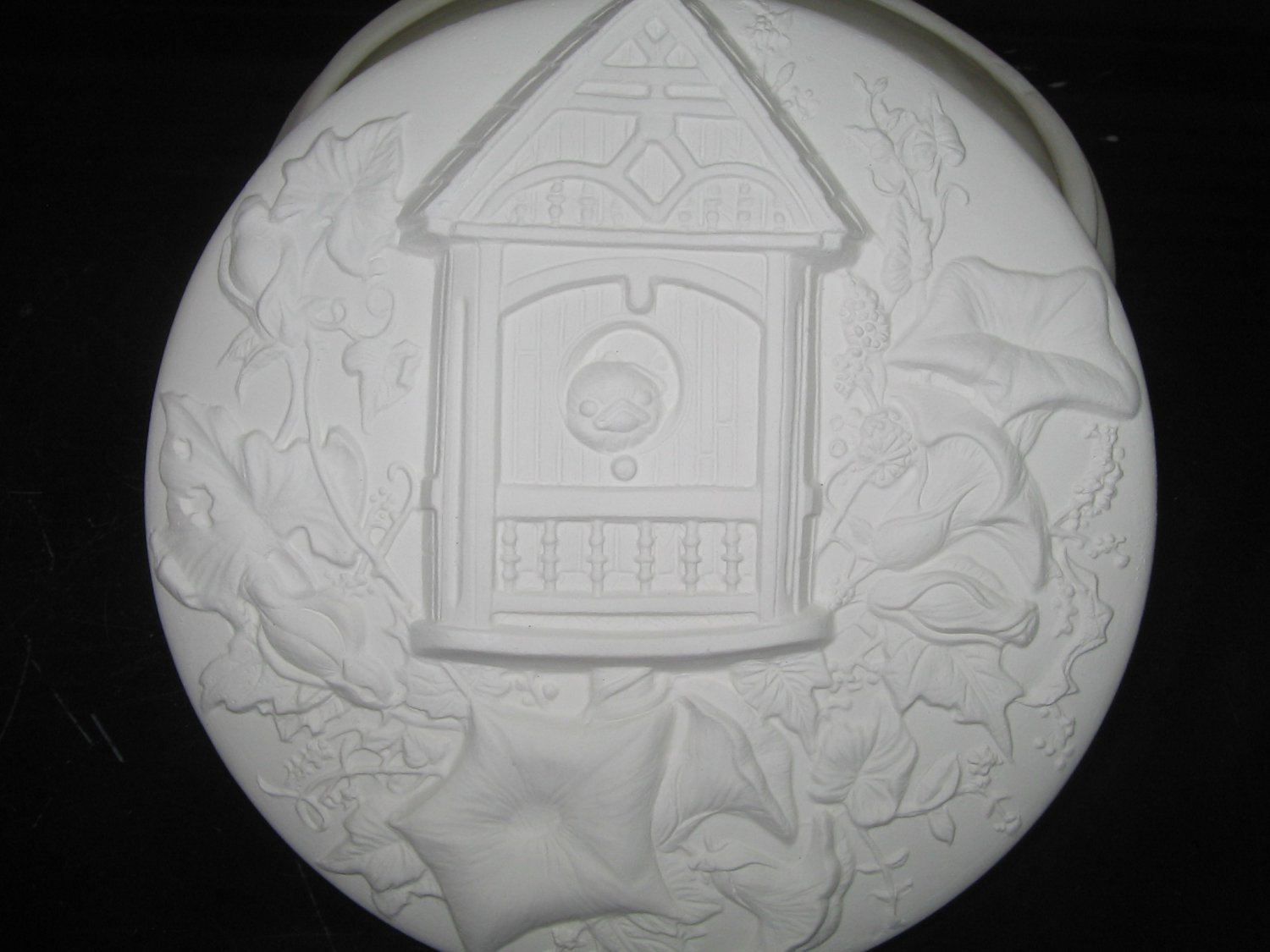 Bird House Trinket Box Ceramic Bisque Ready To Paint Ceramics U Paint Birds