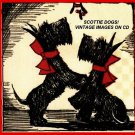 Scottie Dogs Vintage Christmas Images On CD