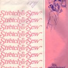 Vintage Sewing Patterns Stretch & Sew 200 Raglan Blouse FREE SHIPPING