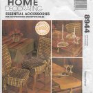 HOME DECORATING chair cover, pillow, table cloth, napkins, placemats MORE McCalls 8944 Free Shipping