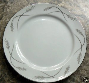 "Mikasa Grace-ine Dinner Plate 10 1/4""  Graceine china"