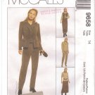 WARDROBE Jones NY Jacket skirt pants vest MCCALLS 9658 sz 14 Free Shipping