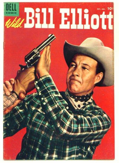 WILD BILL ELLIOTT #15 Dell Comics 1954 Western