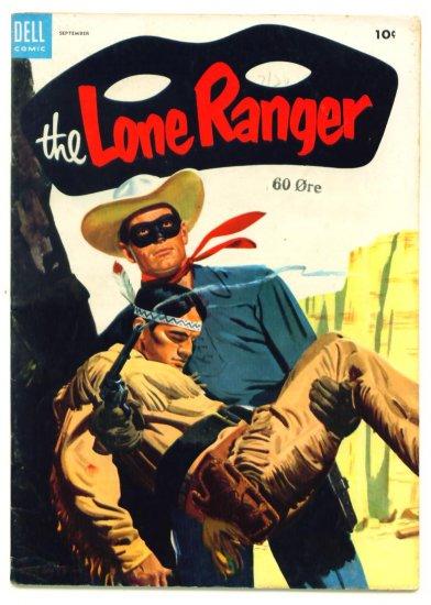 The LONE RANGER #75 Dell Comics 1954