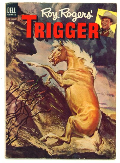 ROY ROGERS TRIGGER #13 Dell Comics 1954