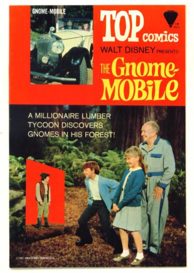 The GNOME MOBILE Top Comics 1967 Walt Disney Gold Key