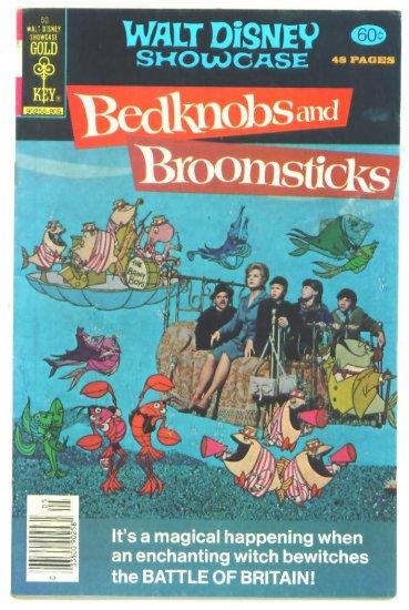 BEDKNOBS and BROOMSTICKS WALT DISNEY SHOWCASE #50 Gold Key Comics 1979