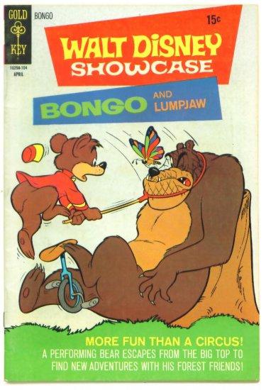 BONGO & LUMPJAW Gold Key Comics 1971 Walt Disney Showcase #3