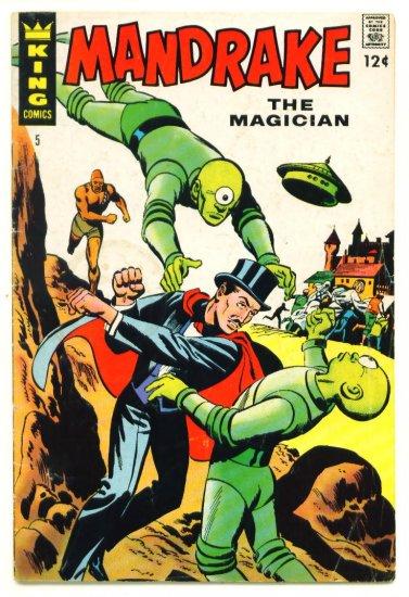 MANDRAKE the MAGICIAN #5 King Comics 1967 UFO COVER