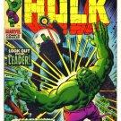 INCREDIBLE HULK #123 Marvel Comics 1970  Hulk versus The Leader