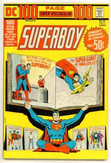 SUPERBOY SUPER SPECTACULAR DC-21 DC Comics 1973 GIANT