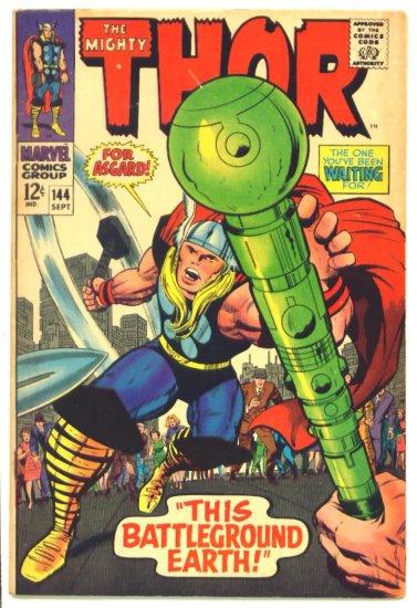 THOR #144 Marvel Comics 1967