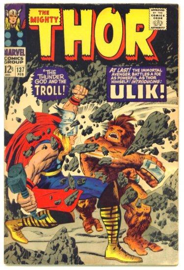 THOR #137 Marvel Comics 1967 Jack Kirby