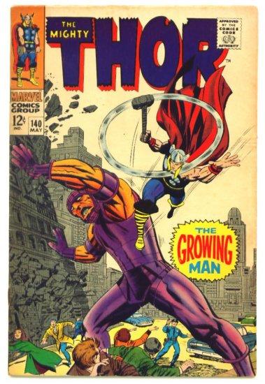THOR #140 Marvel Comics 1967 Jack Kirby