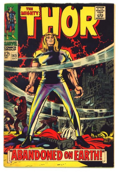 THOR #145 Marvel Comics 1967