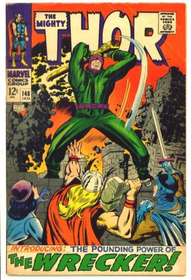 THOR #148 Marvel Comics 1968 Origin of Black Bolt INHUMANS
