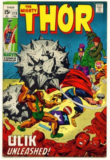 THOR #173 Marvel Comics 1970 Jack Kirby