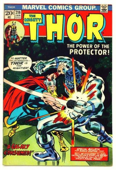 THE MIGHTY THOR #219 Marvel Comics 1974