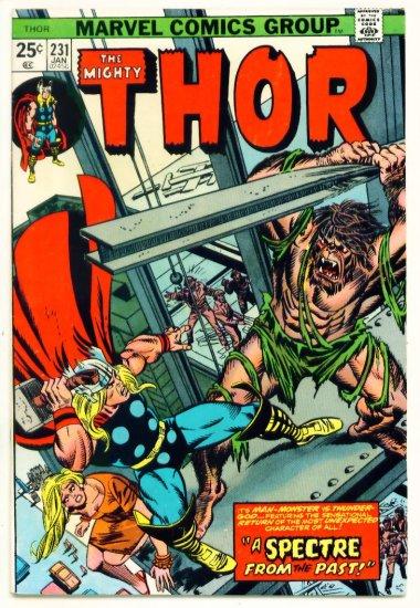 THE MIGHTY THOR #231 Marvel Comics 1975