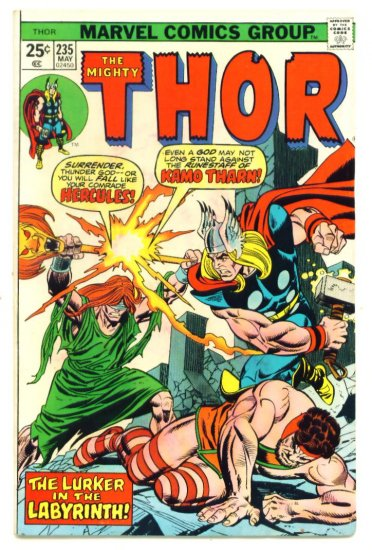 THE MIGHTY THOR #235 Marvel Comics 1975