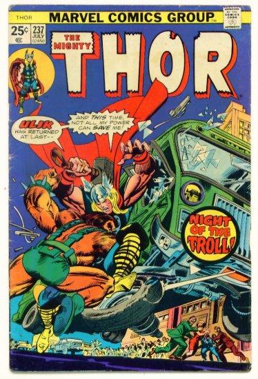 THE MIGHTY THOR #237 Marvel Comics 1975