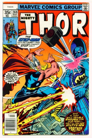 THE MIGHTY THOR #269 Marvel Comics 1978
