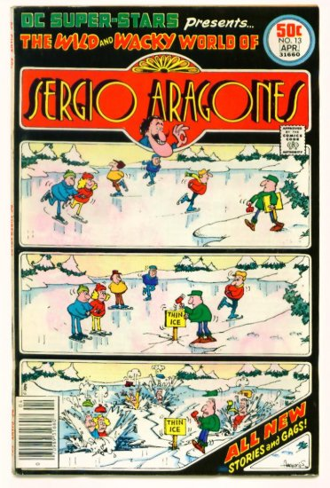Sergio Aragones DC SUPER STARS #13 DC Comics 1977 GIANT