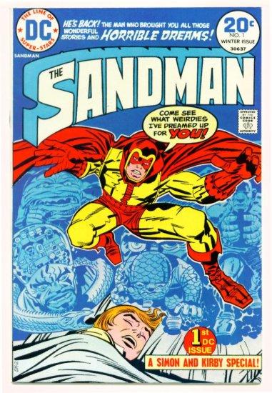 SANDMAN #1 DC Comics 1974 Jack Kirby FIRST BRONZE APPEARANCE