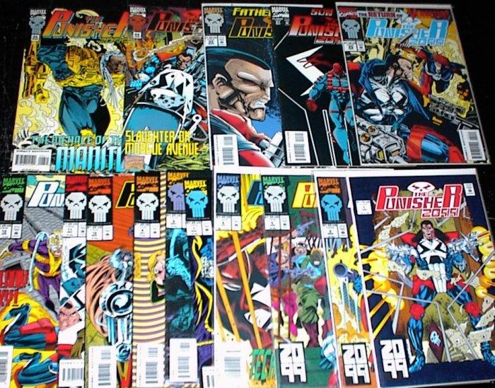 PUNISHER 2099 Lot of 17 Marvel Comics #1 - #26