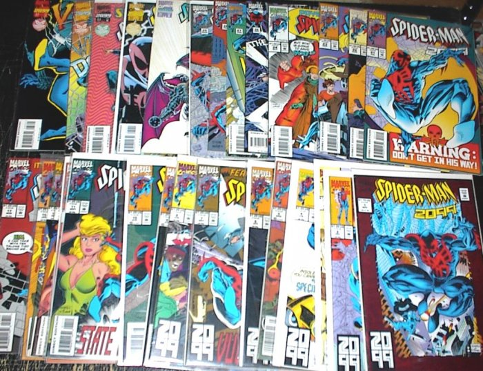 SPIDER-MAN 2099 Lot of 30 Marvel Comics #1 - #38