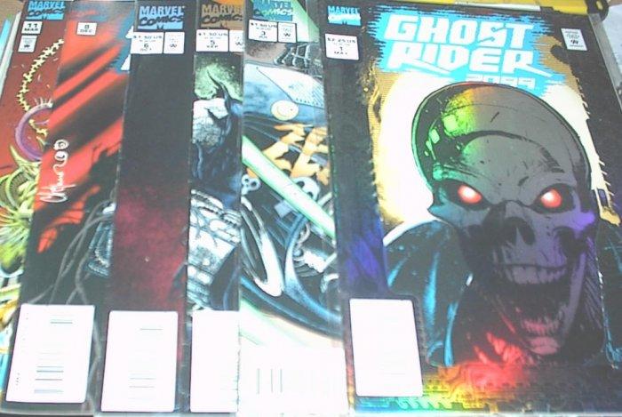 GHOST RIDER 2099 Lot of 6 Marvel Comics #1 - #11