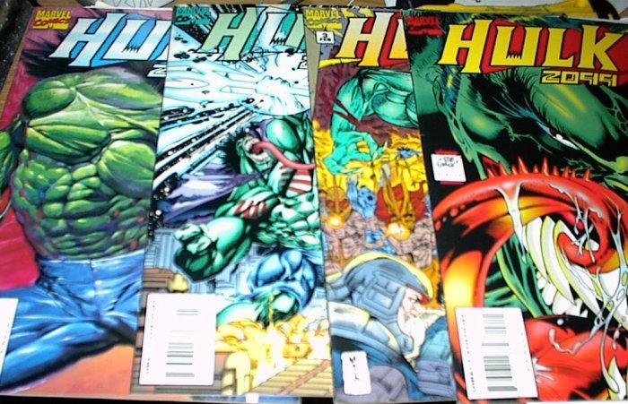 HULK 2099 Lot of 4 Marvel Comics #2 #3 #4 #5