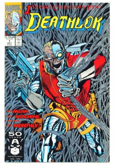 DEATHLOK #1 Marvel Comics 1991 Near Mint